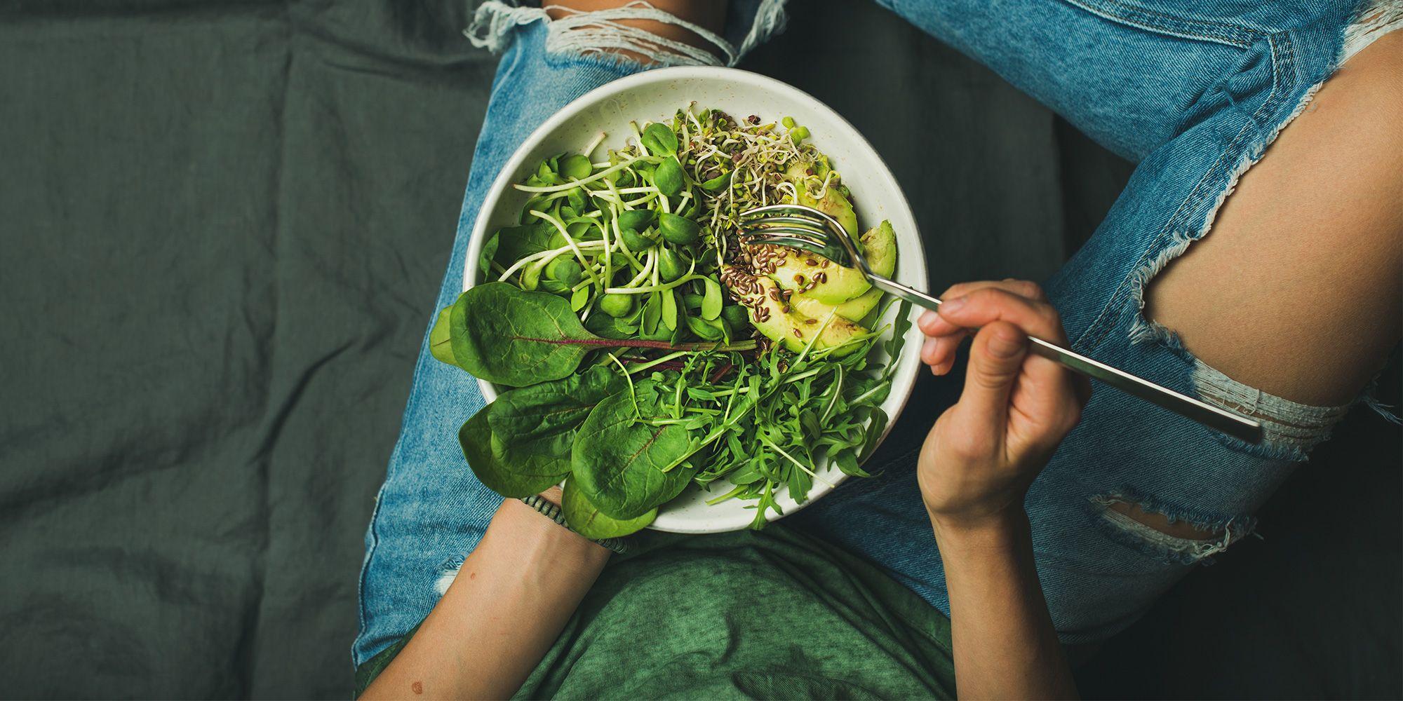 Dietas vegetarianas para subir de peso