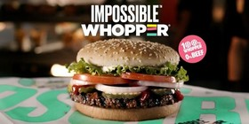 Burger King contempla vender la vegana Impossible Whopper