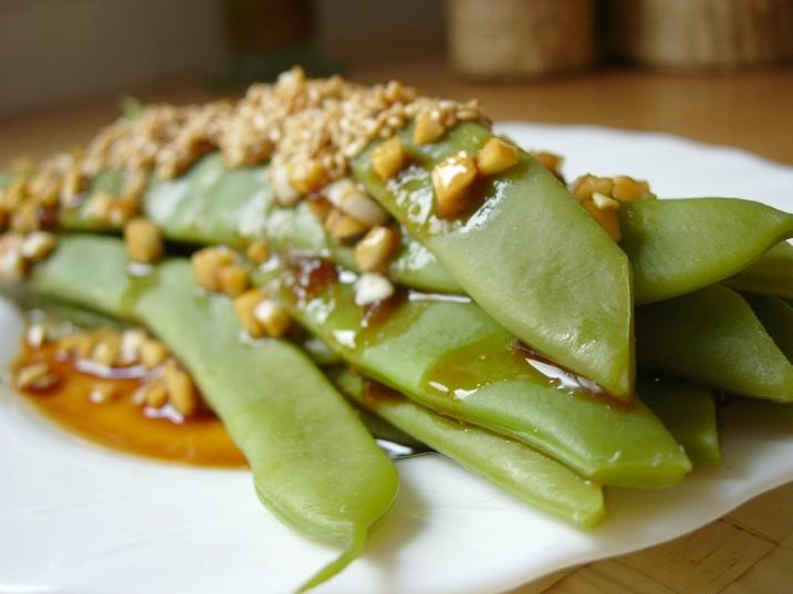 Jud as verdes con semillas de s samo platos entrantes - Tiempo de coccion de judias verdes ...