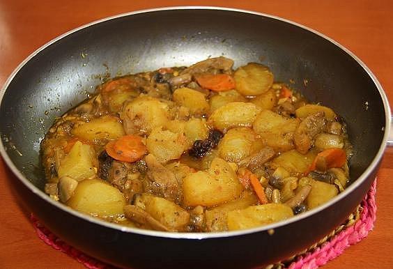 guisos con patatas: