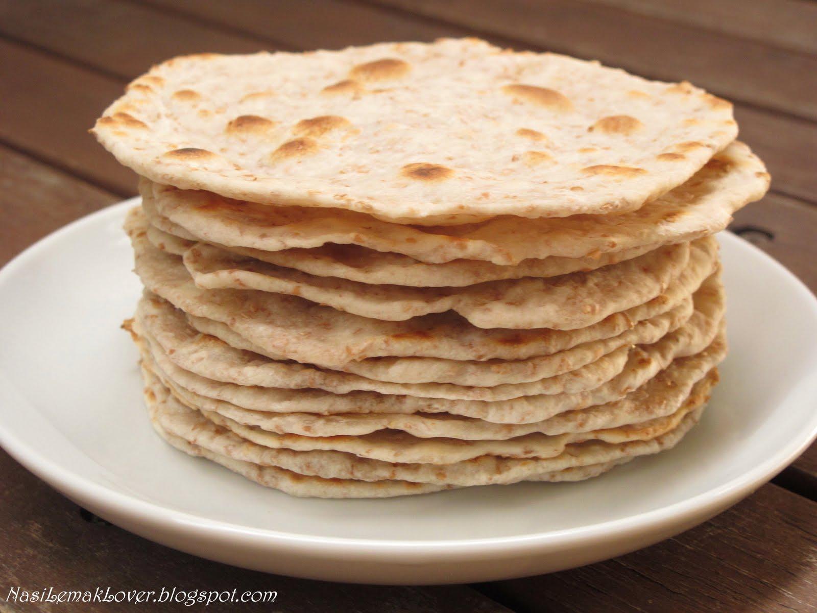 Indian Food Flatbread
