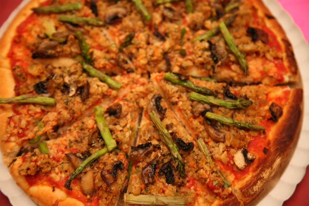 Pizza De Soja Texturizada