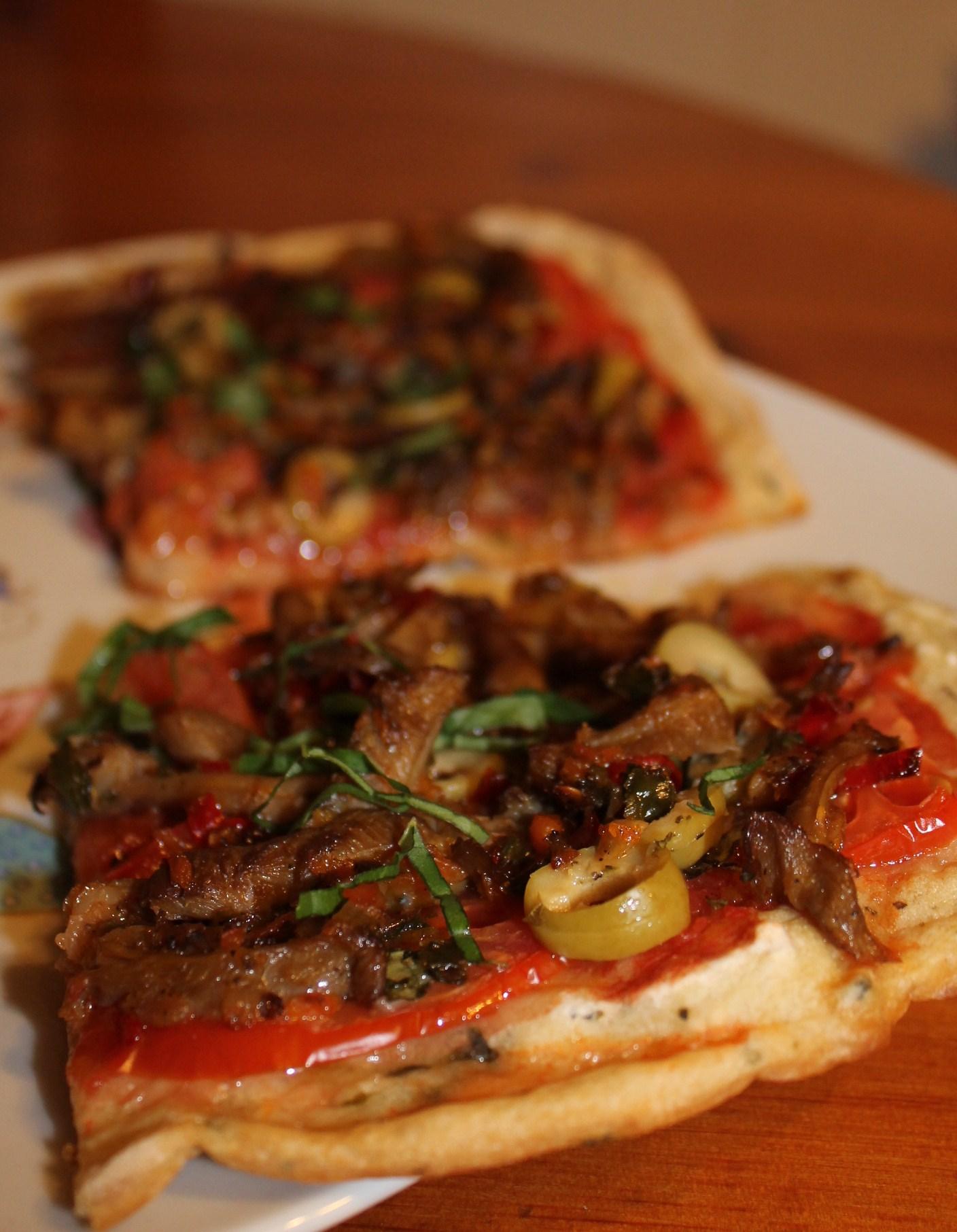 Pizza vegana y sin gluten / Platos principales / Pastas / Pizzas ...