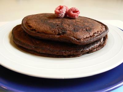 facílisima receta para hacer panqueques de chocolate tostaditos por ...