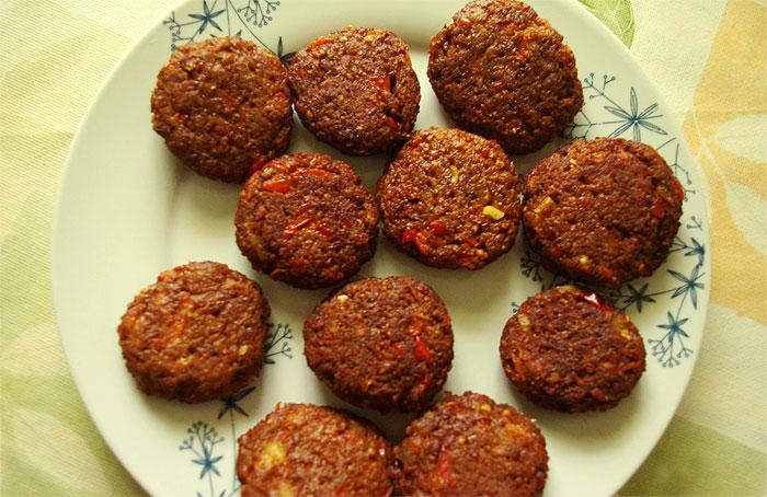 Hamburguesas veganas de soja texturizada platos principales alb ndigas hamburguesas - Como cocinar soja texturizada ...