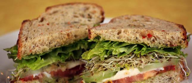 Resultado de imagen para Sandwich vegetariano
