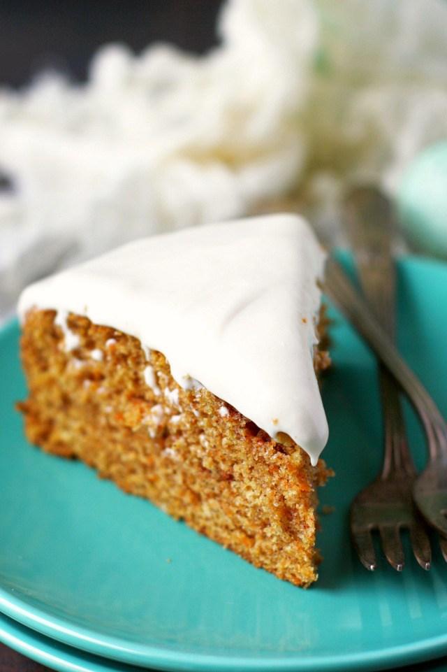 Carrot Cake Topping Cream Cheese Orange