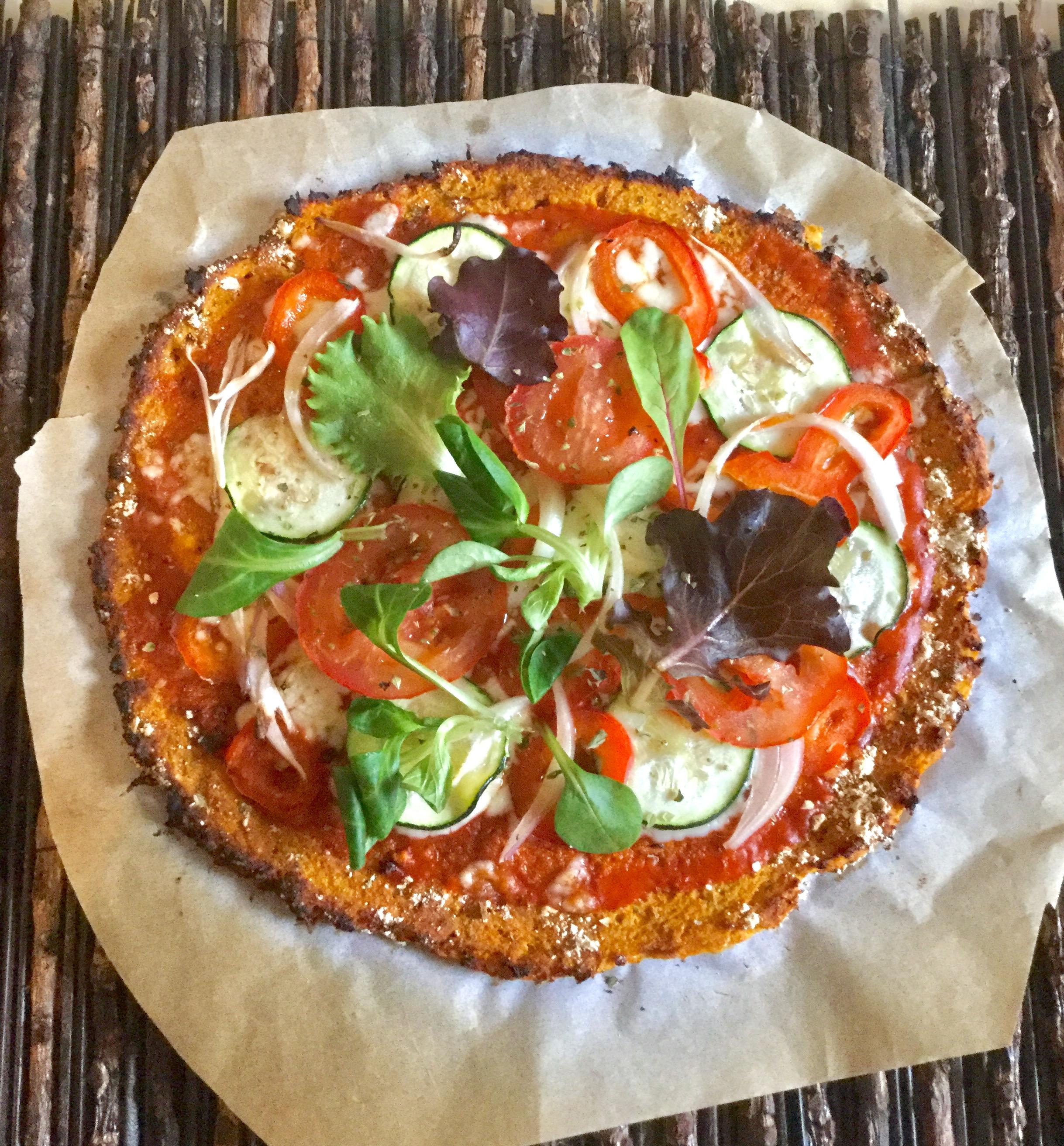 Pizza Con Base De Zanahoria Hazteveg Com