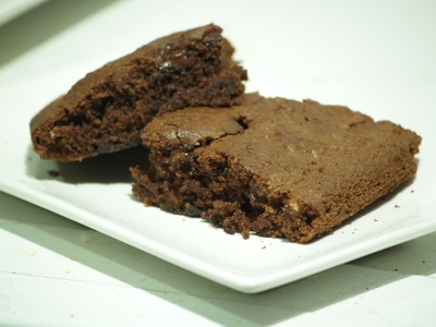 Brownie, rico y vegano
