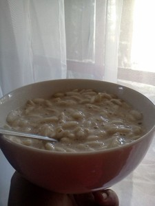 Yogurth de plátano