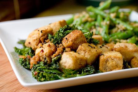 Tofu al wok