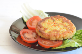 Hamburguesas de arroz integral