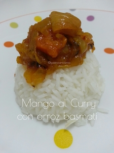 Mango al curry con basmati