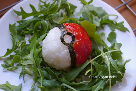 Pokeball de Arroz