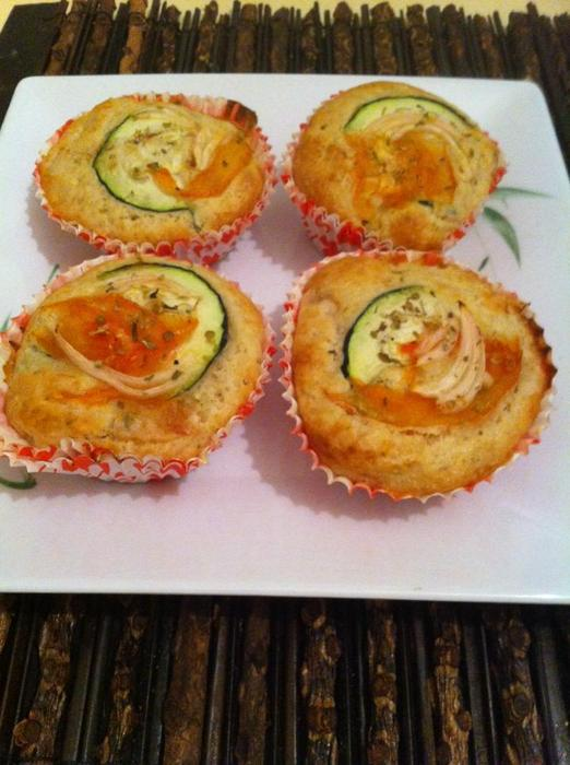 Muffins de verduras platos entrantes - Platos para sorprender ...