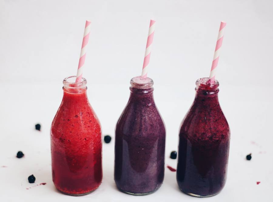 Smoothies tres sabores