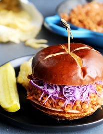 """Sloppy Joes"" de lentejas"
